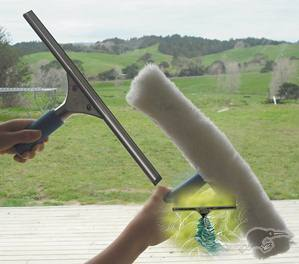 Nationwide Cleaning Products | Window Cleaning Kit with 4m Telescopic Pole