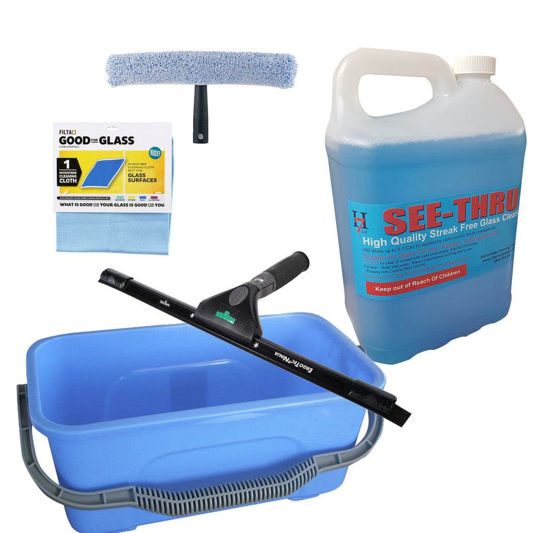 Window Cleaning Super Pro Kit With 5 Litres Of Concentrate