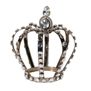Large Crown Crystal Ornament