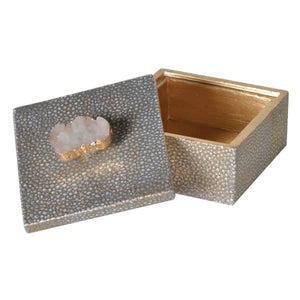 Resin Deco Box Gold