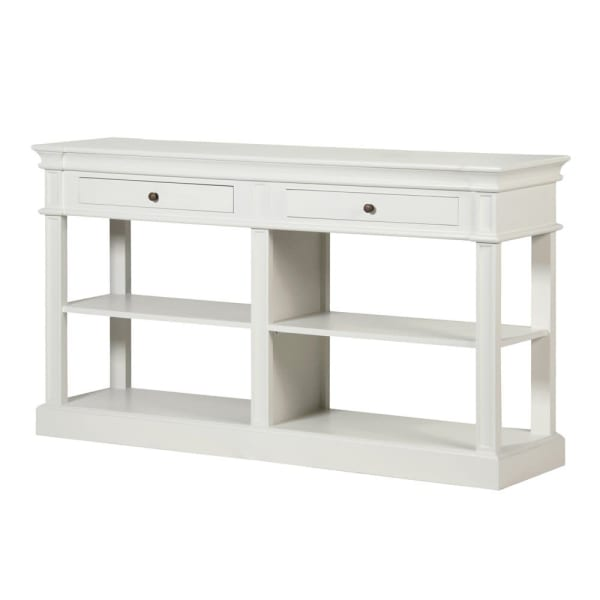 White Fayence Shelf Buffet