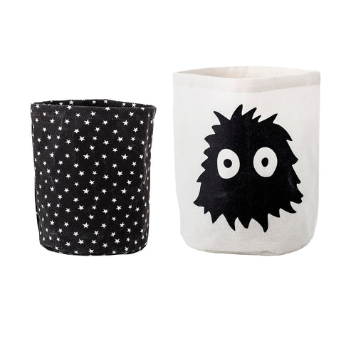 Set of 2 Monster Storage Basket