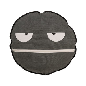 Grey Face Cushion