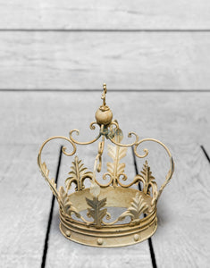 Antique White Iron Crown