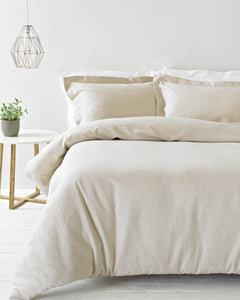 Waff Duvet Set King Blush