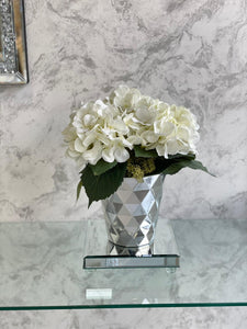Bespoke Flower Display Hydrangea Geo