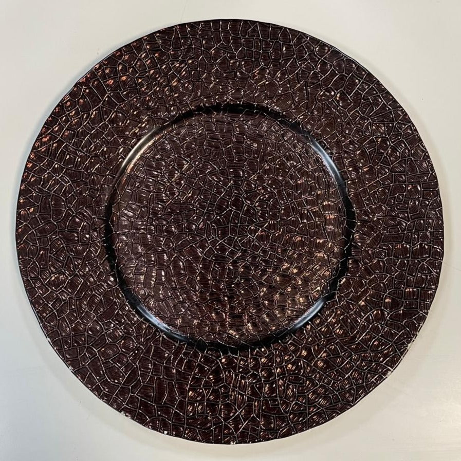 SIA Breeze Charger Plates Bronze