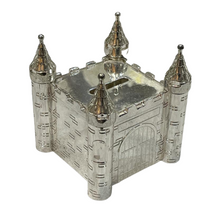 Load image into Gallery viewer, Silver Castle Money Box