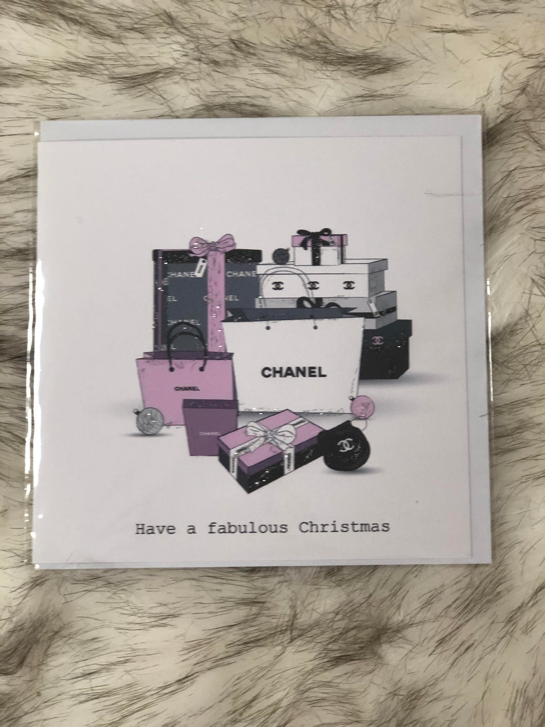Present Chanel Card