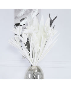 Glitter White Spike Flower