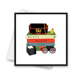 Gucci Fashion Books Card