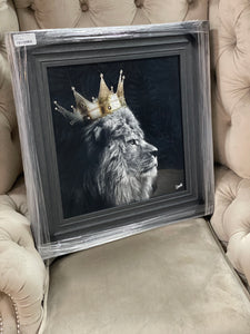 Lion King Left Grey Frame