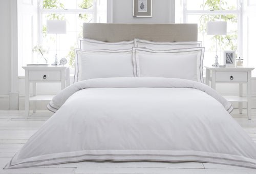 Dringham King Duvet Set Taupe