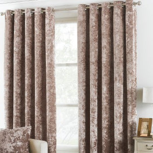"Vero Oyster Curtains (90x72"")"