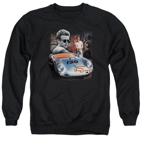 DEAN/SUNDAY DRIVE - ADULT CREWNECK SWEATSHIRT - BLACK - XL