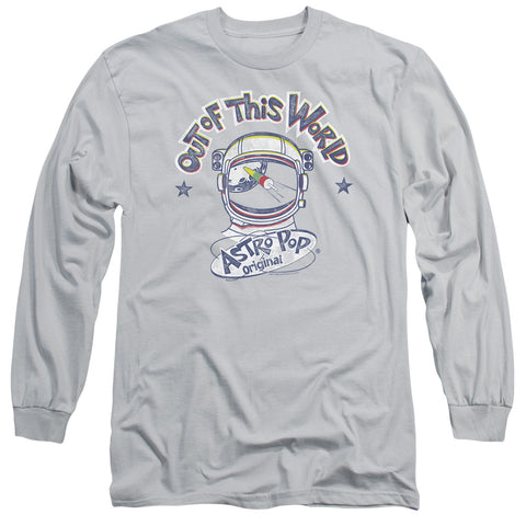 ASTRO POP/OUT OF THE WORLD-L/S ADULT 18/1-SILVER-2X
