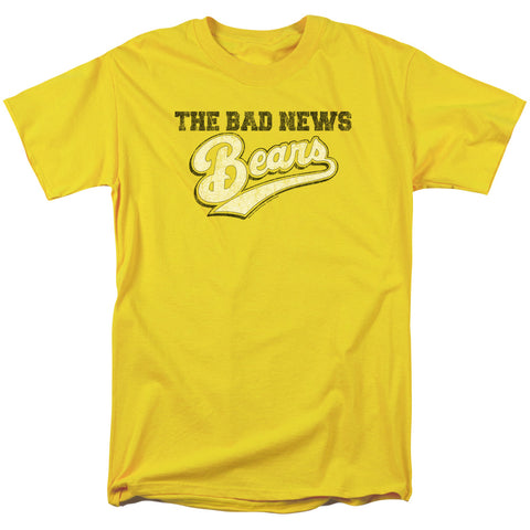 BAD NEWS BEARS/LOGO - S/S ADULT 18/1 - YELLOW - 3X