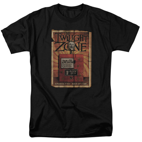 TWILIGHT ZONE/SEER - S/S ADULT 18/1 - BLACK - 2X