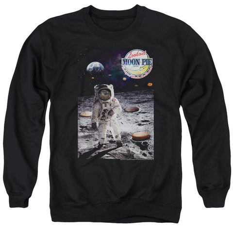 MOON PIE/THE TRUTH-ADULT CREWNECK SWEATSHIRT-BLACK-XL