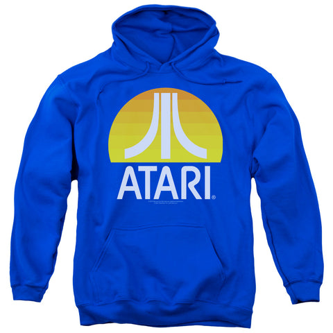 ATARI/SUNRISE CLEAN-ADULT PULL-OVER HOODIE-ROYAL BLUE-MD