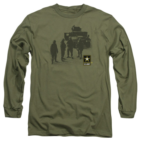 ARMY/STRONG - L/S ADULT 18/1 - MILITARY GREEN - MD