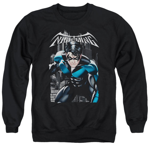 BATMAN/A LEGACY - ADULT CREWNECK SWEATSHIRT - BLACK - XL