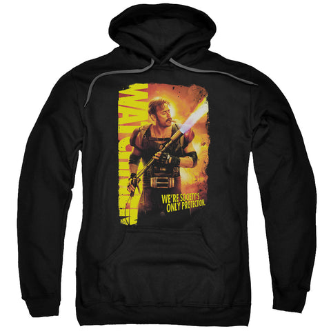 WATCHMEN/SMOKE EM-ADULT PULL-OVER HOODIE-BLACK-XL