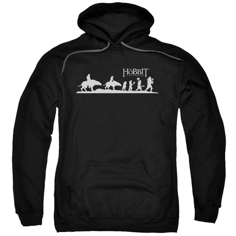 HOBBIT/ORC COMPANY-ADULT PULL-OVER HOODIE-BLACK-MD