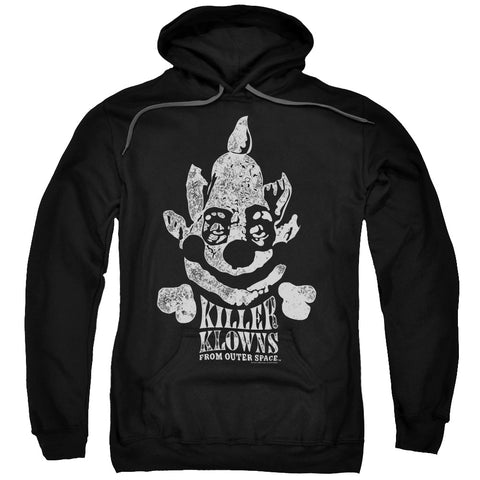 KILLER KLOWNS FROM OUTER SPACE/KREEPY-ADULT PULL-OVER HOODIE-BLACK-MD