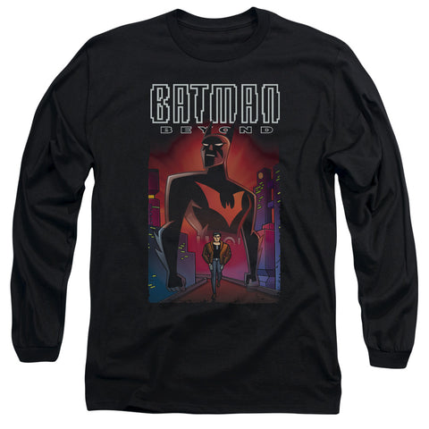 BATMAN BEYOND/FACING FATE-L/S ADULT 18/1-BLACK-SM