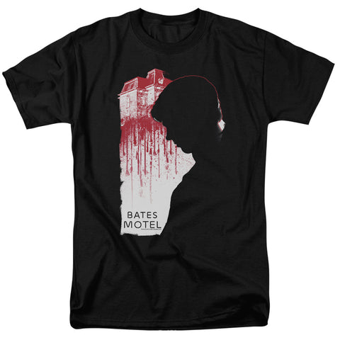 BATES MOTEL/CRIMINAL PROFILE - S/S ADULT 18/1 - BLACK - 2X - Black - 2X