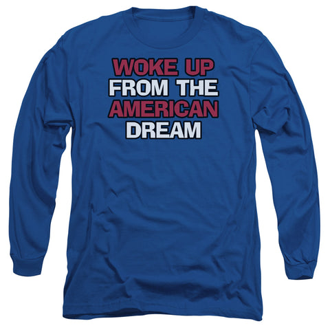 AMREICAN DREAM-L/S ADULT 18/1-ROYAL BLUE-MD