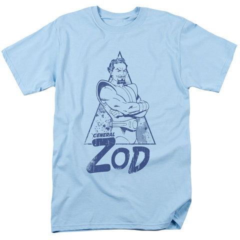 SUPERMAN/VINTAGE ZOD - S/S ADULT 18/1 - LIGHT BLUE - SM