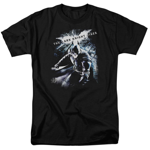 DARK KNIGHT RISES/MORE THAN A MAN - S/S ADULT 18/1 - BLACK - 2X