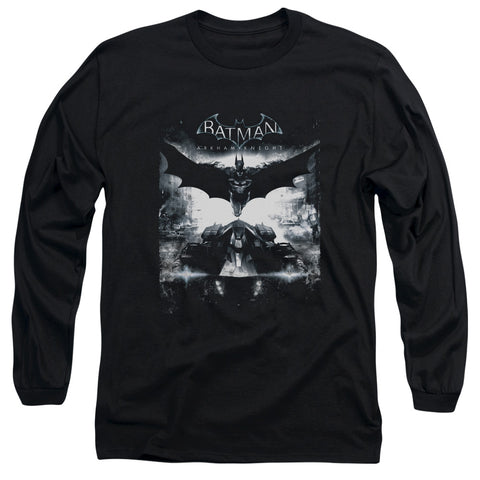 BATMAN ARKHAM KNIGHT/FORWARD FORCE-L/S ADULT 18/1-BLACK-2X