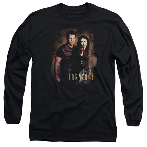 FARSCAPE/WANTED - L/S ADULT 18/1 - BLACK - 2X