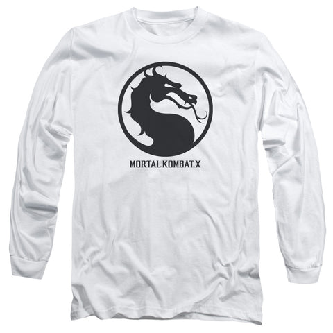 MORTAL KOMBAT X/SEAL-L/S ADULT 18/1-WHITE-SM