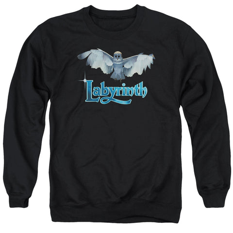 LABYRINTH/TITLE SEQUENCE - ADULT CREWNECK SWEATSHIRT - BLACK - 3X