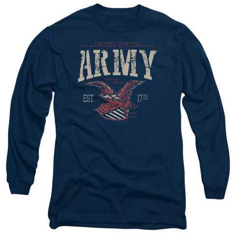 ARMY/ARCH-L/S ADULT 18/1-NAVY-XL