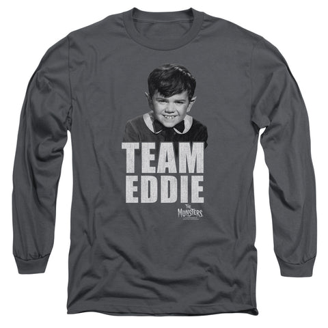 MUNSTERS/TEAM EDWARD - L/S ADULT 18/1 - CHARCOAL - LG