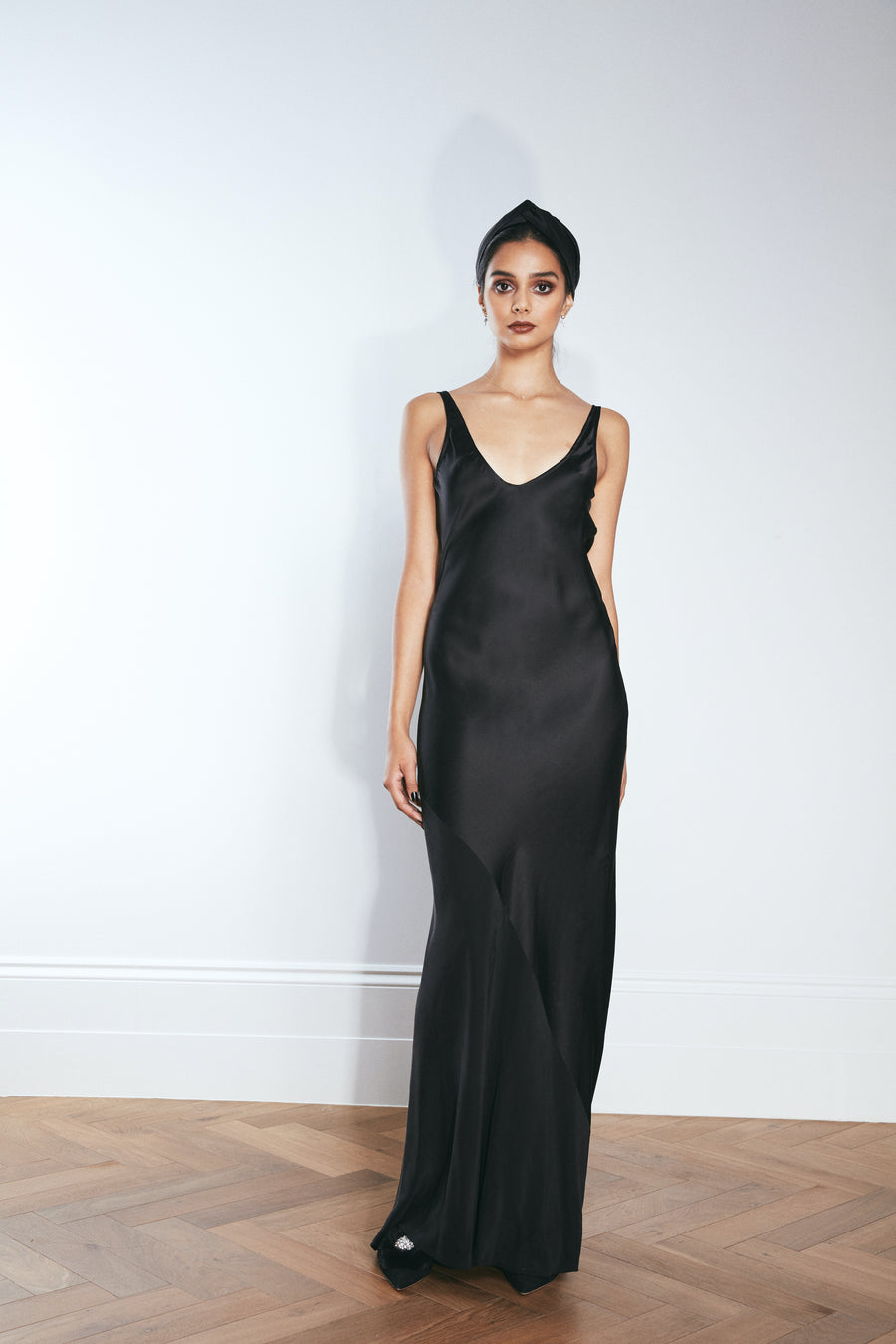 The Cannes Do | Black Satin