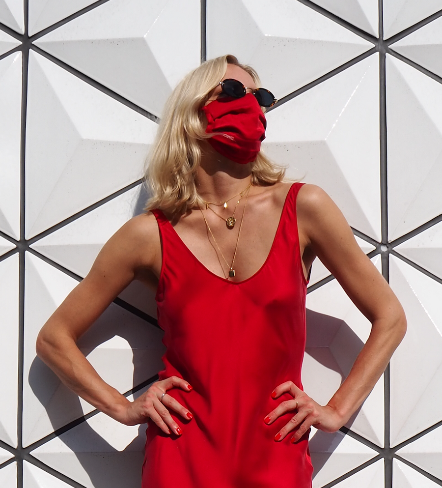 Silk Mask | Vamp Red (4684645761105)