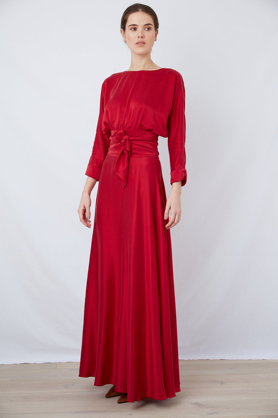 The Maxi Twirl | Vamp Red