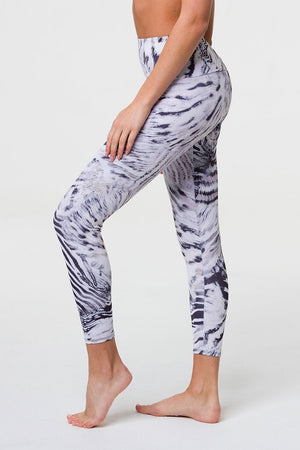 High Rise Legging - Zebra Print Sanctuary - Onzie Flow