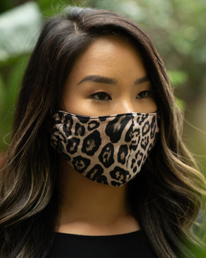 Mindful Masks Black or Leopard- Onzie