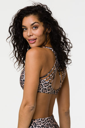Chic Sports Bra - Leopard - Onzie Flow