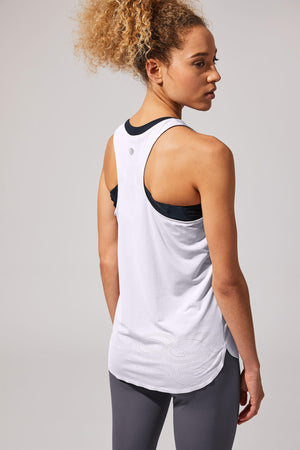 Revolution White Layering Tank - MPG Sport