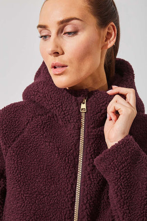 Bombshell Berber Fleece Jacket - MPG Sport