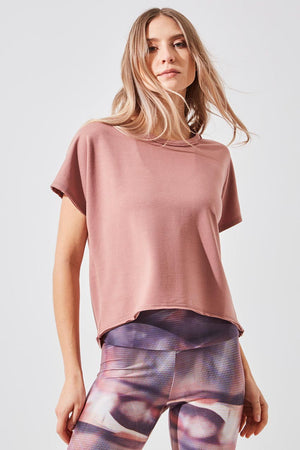 Reputation Recycled Tencel Botanical Sleeveless Sweatshirt Tank - MPG Sport