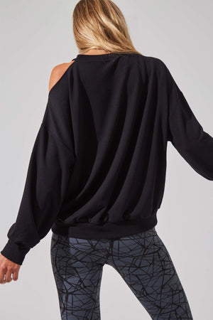 Refine Recycled Cold Shoulder Sweatshirt - MPG Sport